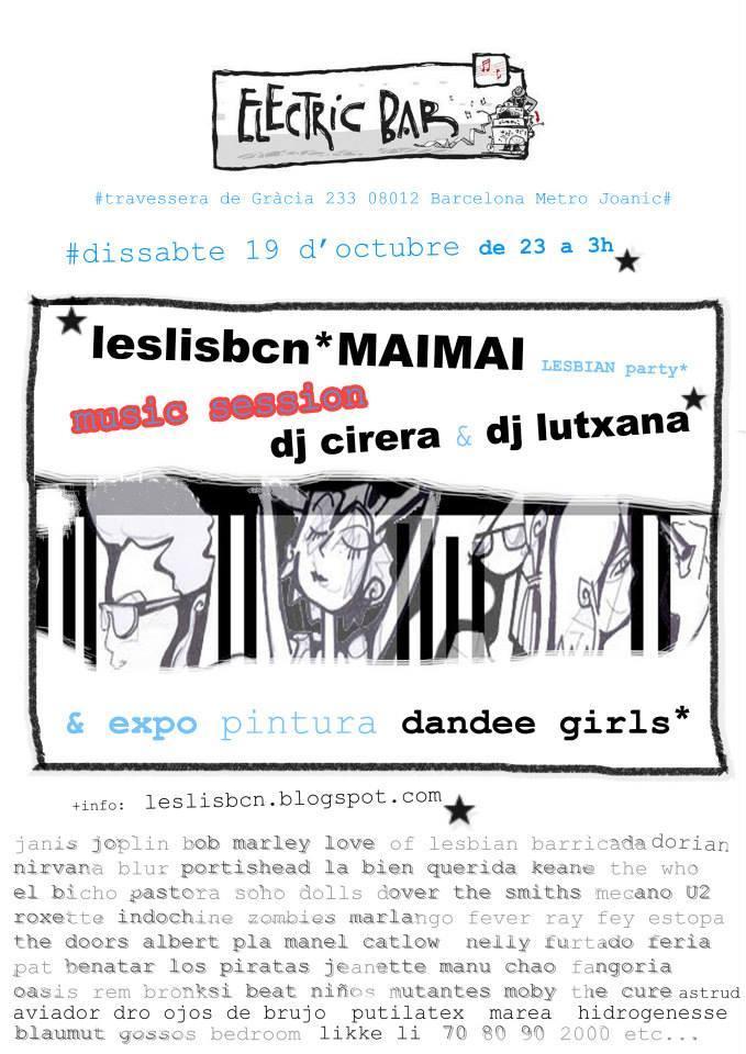 leslisbcn lutxana maimai marketing social eventos feministas inclusivos barcelona