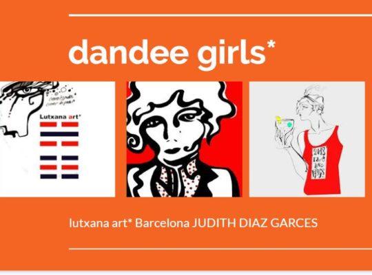 dandee girls project art lutxana art barcelona